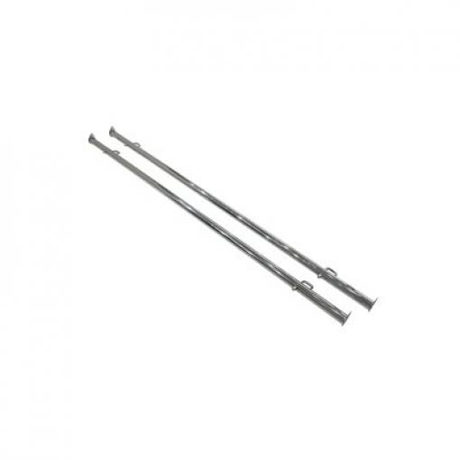 Clamp-On Bar for Double Bar Clothing Rack | Set