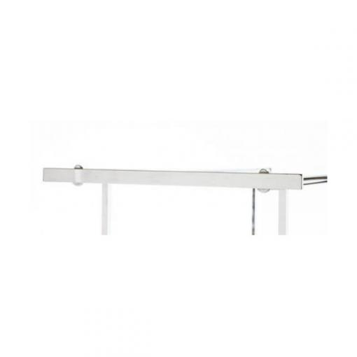 Add-On End Bar for Double Bar Clothing Rack