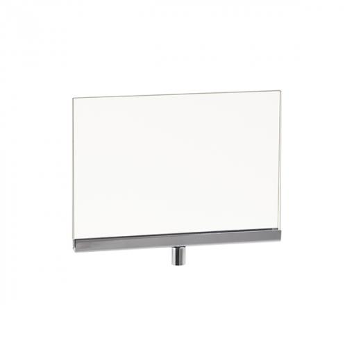 """Acrylic Sign Holder with Channel 