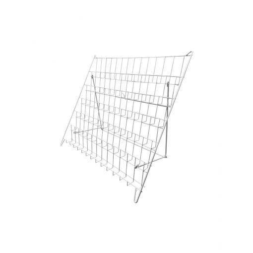 Video / Literature Countertop Wire Rack