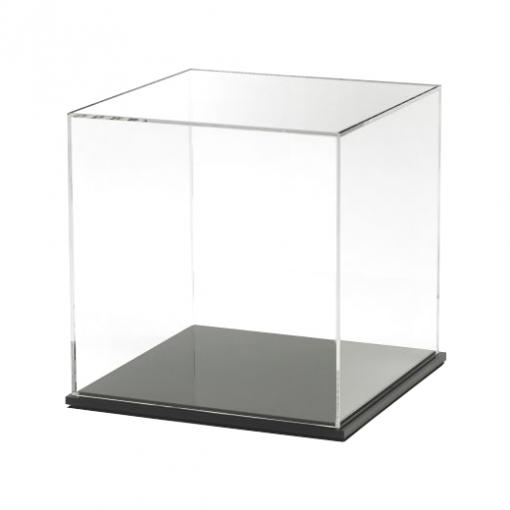 Acrylic Display Cube with Black Base