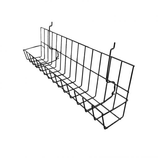 Slatwall Shelf with Pocket