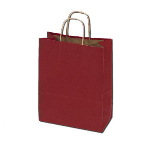 50% Recycled Kraft Bags - Red
