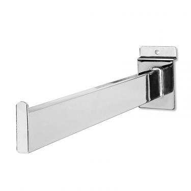 "Slatwall 12"" Straight Out - Rectangular 