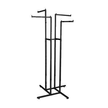 4 Arm Rack - Straight | Black