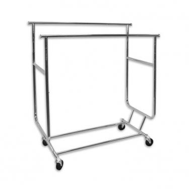Double Collapsible Salesman's Rack