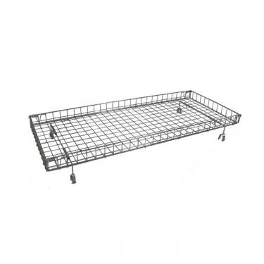 Wire Basket for Double Bar Clothing Rack