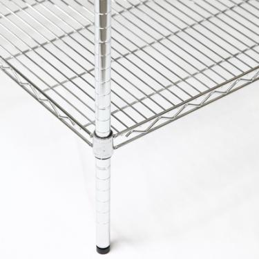 """Chrome Wire Shelving Post 