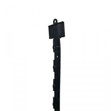"30 1/2"" Long Plastic Merchandising Strip   Black"