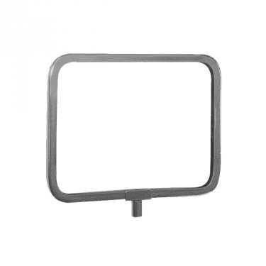 "Sign Holder Chrome Frame | 5½"" x 7"""