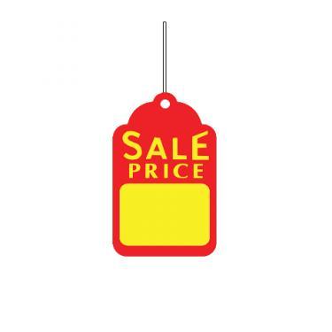 Strung Tag - Sale Price