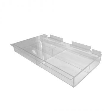 Slatwall Acrylic Tray