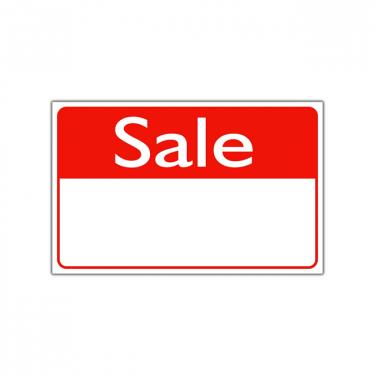 "Re-Usable ""Sale"" Sign"