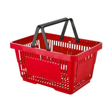 Large Retail Shopping Basket Various Colours