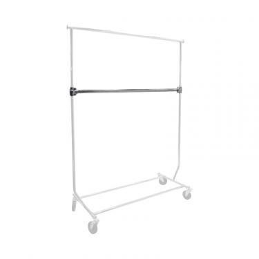 """Add-On Bar for 1"""" Round Collapsible Rack"""
