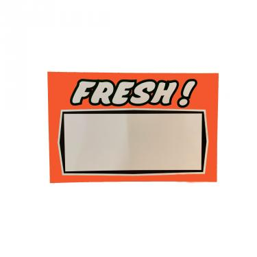 Fresh Sign Pack of 100 Piece