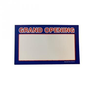 Grand Opening Sign Pack of 100 Piece