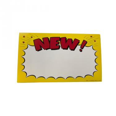 New Sign Pack of 100 Piece