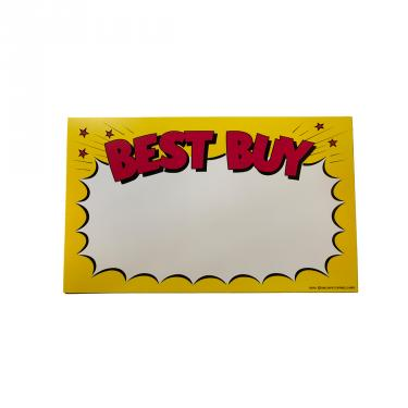 BestBuy! Sign Pack of 100 Piece
