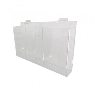 Slatwall Tri-Fold Brochure Holder