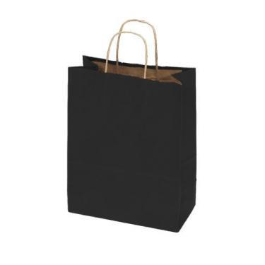 50% Recycled Kraft Bags - Black