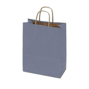 50% Recycled Kraft Bags - Metallic Silver