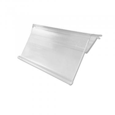 Clip-On Ticket Holder for Glass Shelves