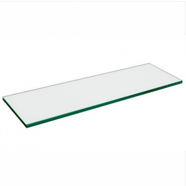 "Glass Shelf 6mm Thickness | 10"" x 48"" Tempered"