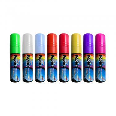 Wet Erase Marker 8 Pack | Chisel Tip