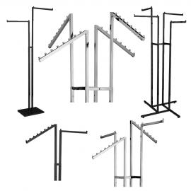 Two & Four Arm Clothing Racks