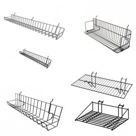 Slatwall Wire Shelves