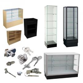Display Cases, Counters & Towers