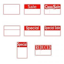 Sign Cards Re-Usable