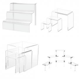 Acrylic Riser Sets and Platforms