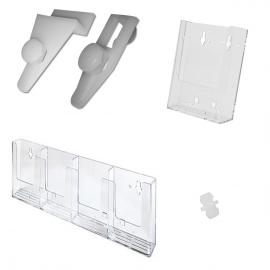 Universal Mount Brochure Holders