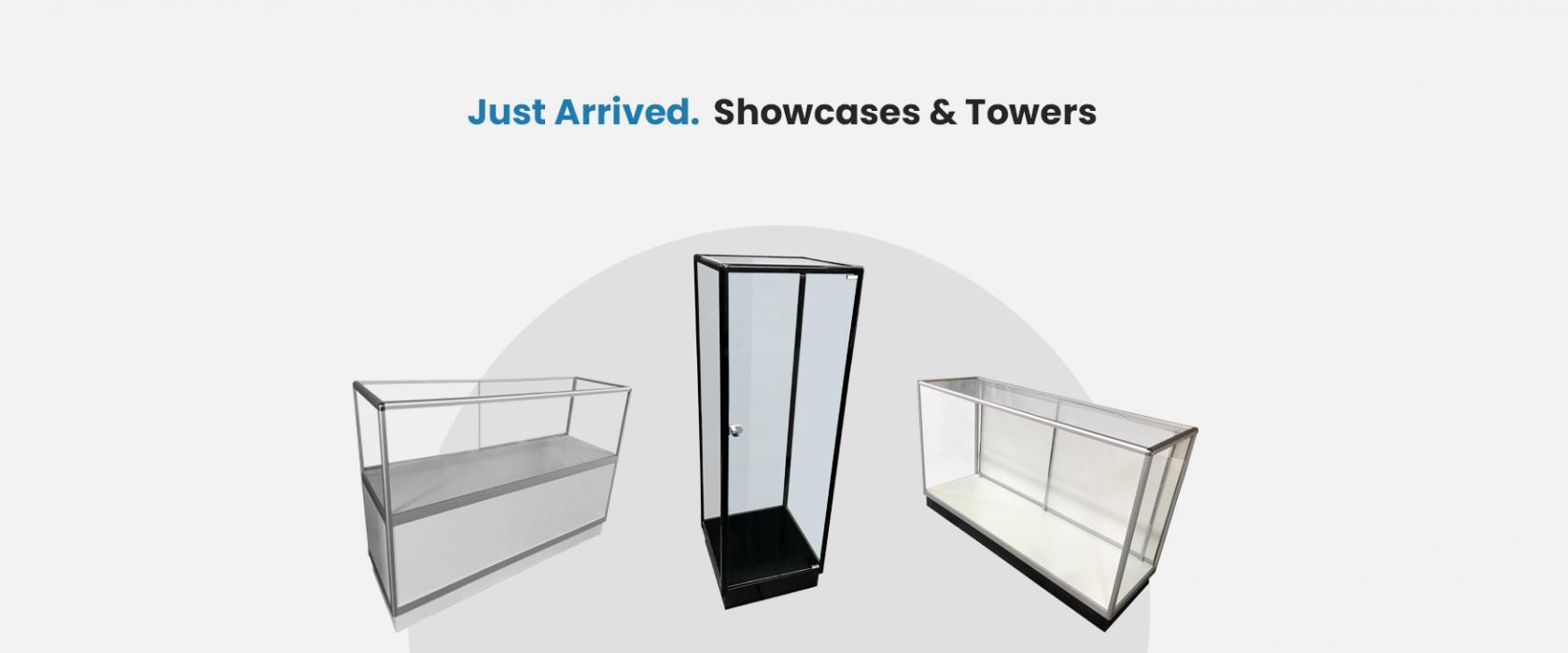 Just Arrived Showcases